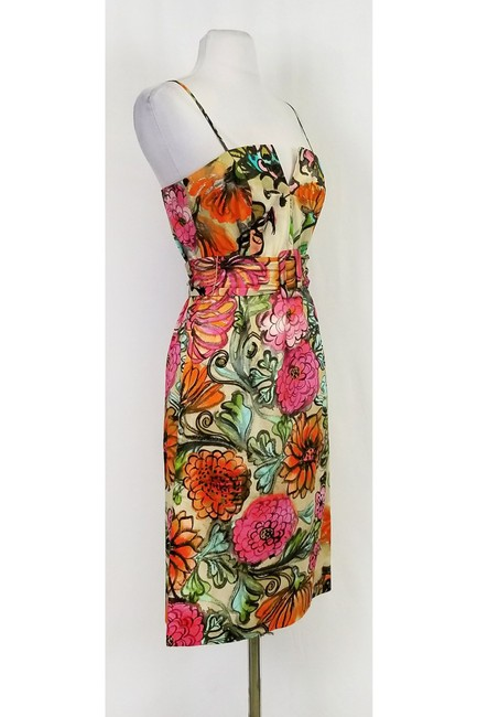 MILLY short dress Multi Color Printed on Tradesy