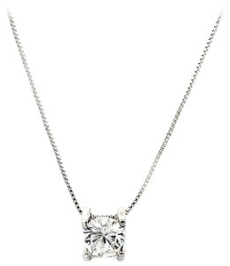 Ocean Fashion Single crystal silver necklace