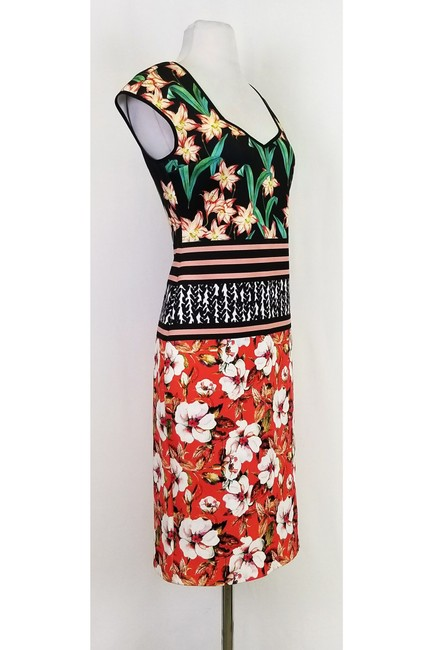 Clover Canyon short dress Multi Floral Print Fitted on Tradesy