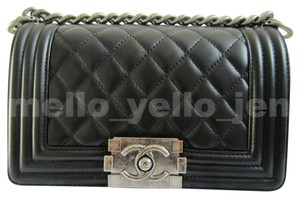 Chanel Boy Classic Boy Cross Body Bag - item med img