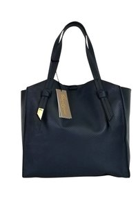 Foley + Corinna Perforated Tote in Navy Blue