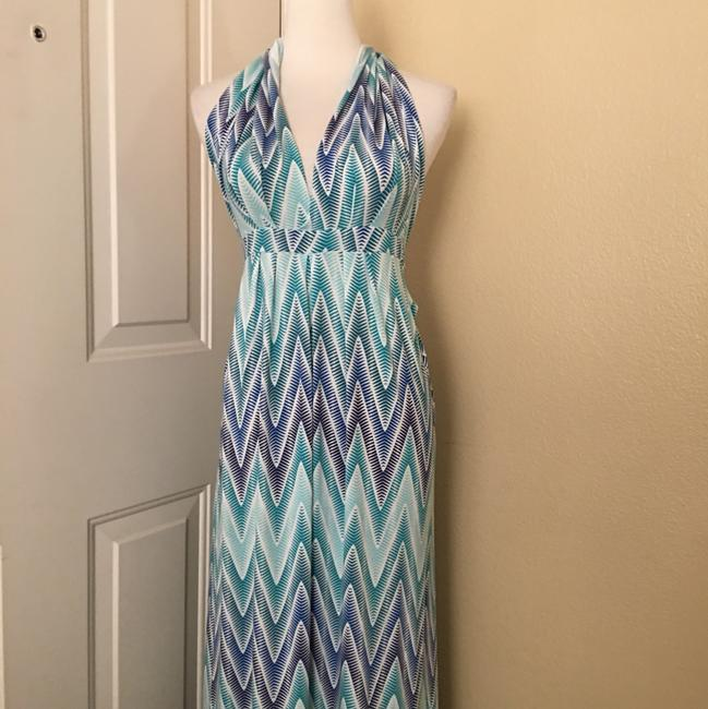 turquoise Maxi Dress by Tart Collections