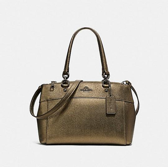 Coach Carryall 34797 36704 Christie Satchel in gold