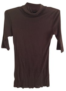 rude T Shirt brown