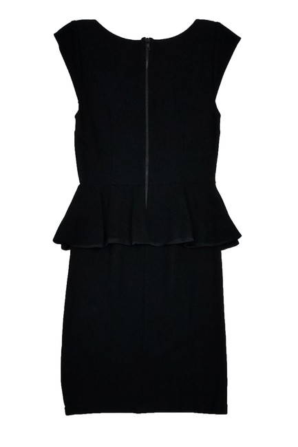 Alice + Olivia short dress Black Peplum on Tradesy