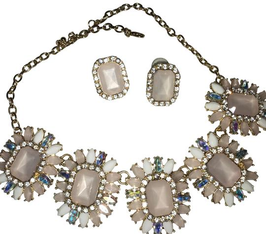 Preload https://img-static.tradesy.com/item/22993590/arden-b-light-pinkwhitemulti-color-fashion-set-necklace-0-2-540-540.jpg