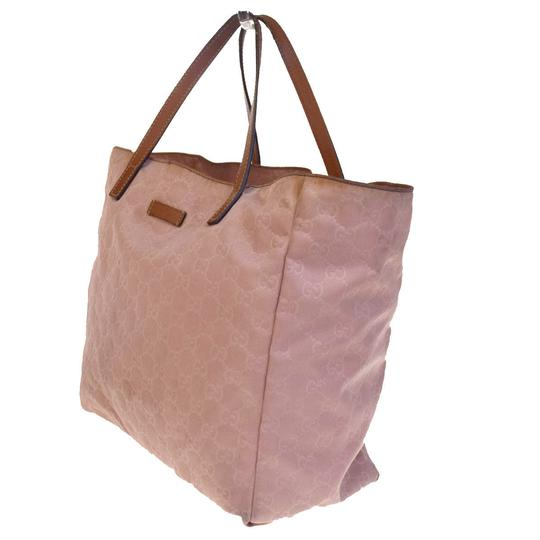 Gucci Made In Italy Tote in Pink Beige