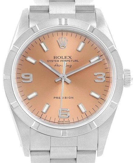 Preload https://img-static.tradesy.com/item/22993604/rolex-salmon-air-king-34-dial-oyster-bracelet-steel-unisex-14010-watch-0-1-540-540.jpg