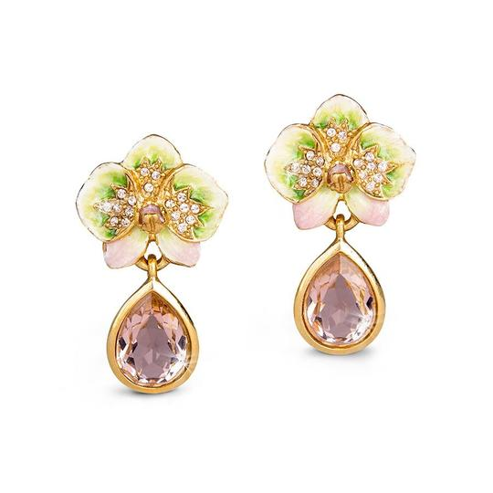 Preload https://img-static.tradesy.com/item/22993654/jay-strongwater-pink-green-rae-orchid-crystal-drop-clip-on-earrings-0-0-540-540.jpg