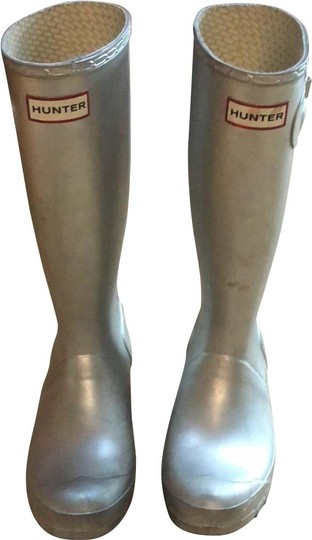 Hunter silver Boots