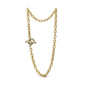 """Jay Strongwater Jay Strongwater 17"""" 18K Gold Plated Toggle Necklace"""