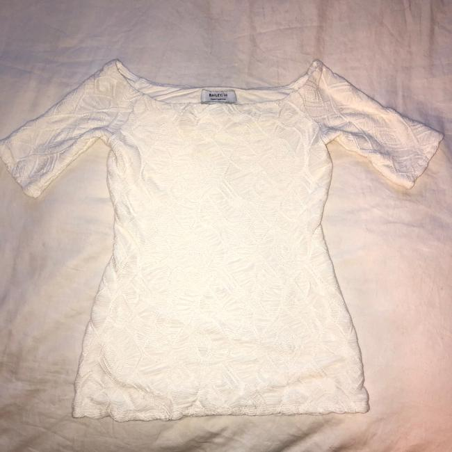 Bailey 44 Off The Shoulder Top Cream / White