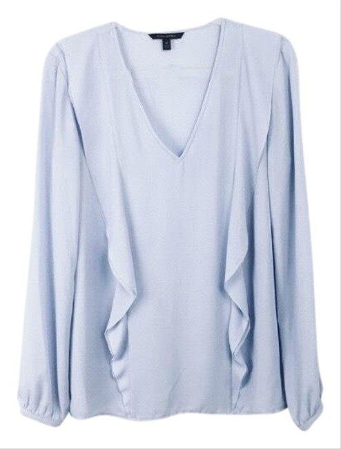 Preload https://img-static.tradesy.com/item/22993760/banana-republic-pale-blue-flounce-blouse-size-petite-4-s-0-2-650-650.jpg