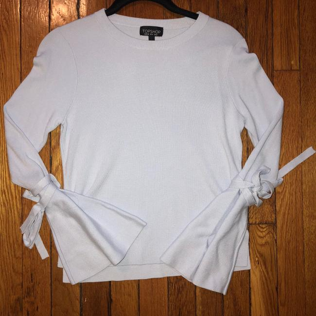 Topshop Bell Sleeve Going Out Sweater