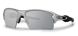 Oakley New Oakley Unisex Sunglasses OO9188-31 Silver Black Frame Grey Lens