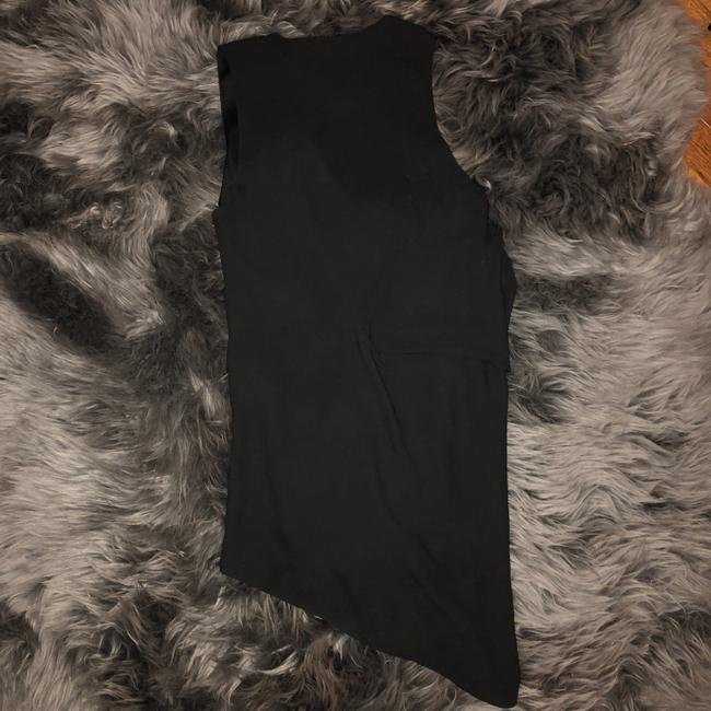 Helmut Lang Silk Going Out Top Black