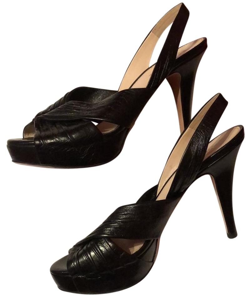 Prada Strapped Shoes High Heeled Pump Formal Shoes Strapped cc07a3