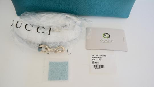 Gucci Leather Dome Cross Body Bag