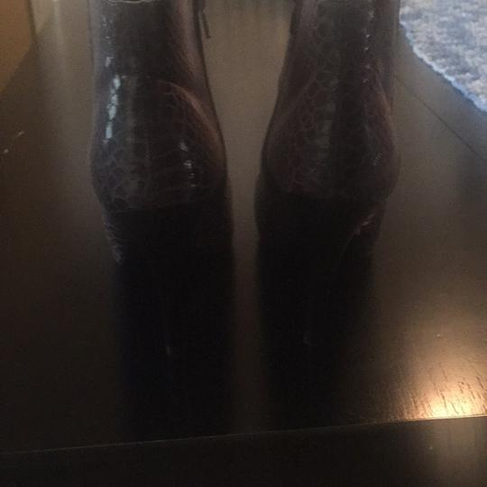Nine West gray and black Boots
