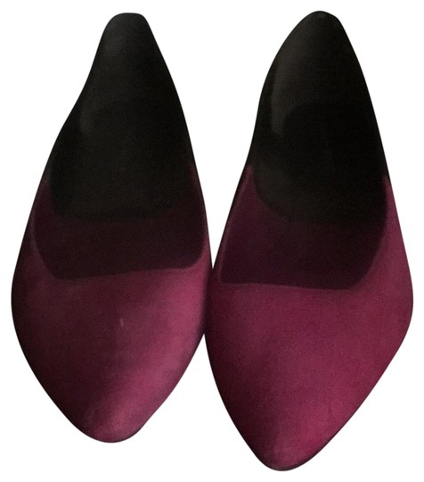Preload https://img-static.tradesy.com/item/22994220/nine-west-deep-pinkblack-flats-size-us-8-regular-m-b-0-1-540-540.jpg