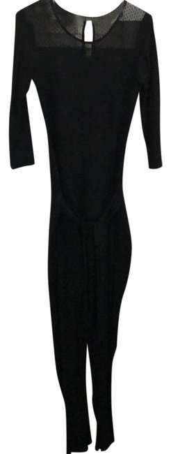 Preload https://img-static.tradesy.com/item/22994232/black-stretchy-jumpsuit-long-workoffice-dress-size-6-s-0-1-650-650.jpg