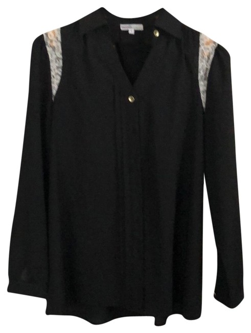 Preload https://img-static.tradesy.com/item/22994245/momo-maternity-black-shirt-with-lace-detail-button-down-top-size-4-s-0-1-650-650.jpg