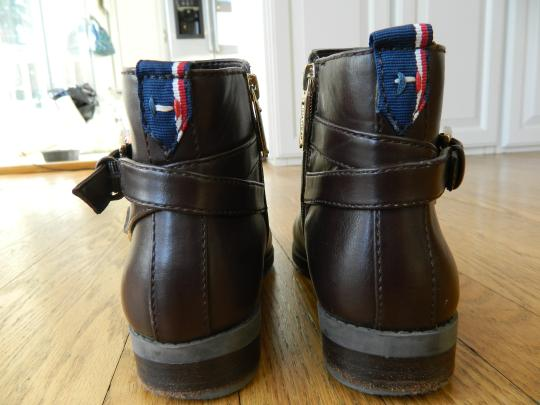Tommy Hilfiger Leather Brown Boots