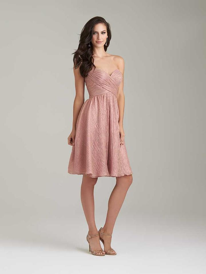 Allure bridals dusty rose shimmer knit style 1473 formal bridesmaid allure bridals dusty rose shimmer knit style 1473 formal bridesmaidmob dress size 6 junglespirit Choice Image