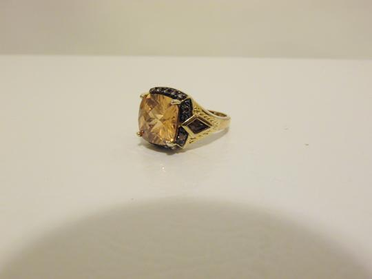 Technibond Technibond Orange Citrine Ring size 7 Image 1