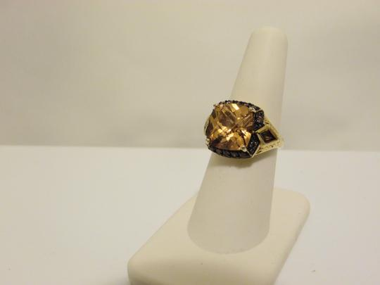 Technibond Technibond Orange Citrine Ring size 7 Image 11