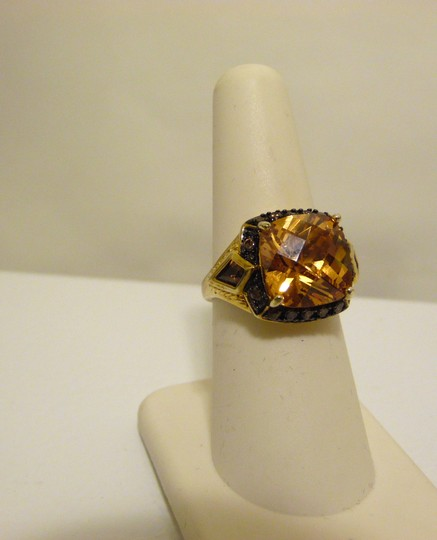 Technibond Technibond Orange Citrine Ring size 7 Image 5