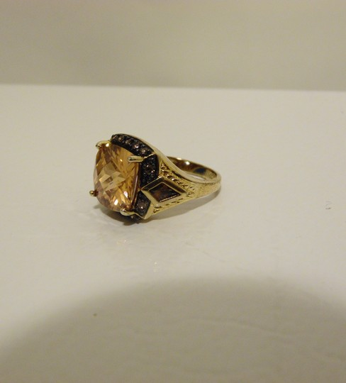 Technibond Technibond Orange Citrine Ring size 7 Image 8