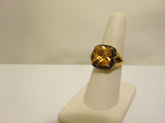 Technibond Technibond Orange Citrine Ring size 7 Image 9