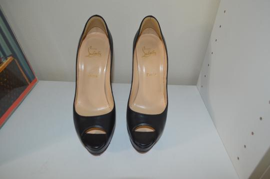 Christian Louboutin Lady Peep 40.5 Lady Peep 40.5 Black Pumps