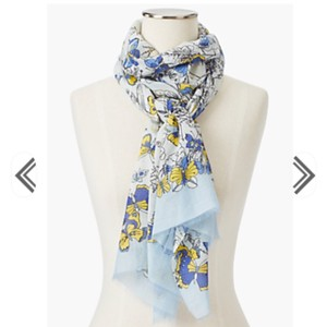 Talbots Talbots allover butterfly scarf