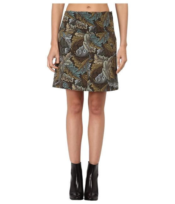 Preload https://img-static.tradesy.com/item/22994701/marc-jacobs-green-acanthus-army-cotton-a-line-women-s-knee-length-skirt-size-0-xs-25-0-1-650-650.jpg