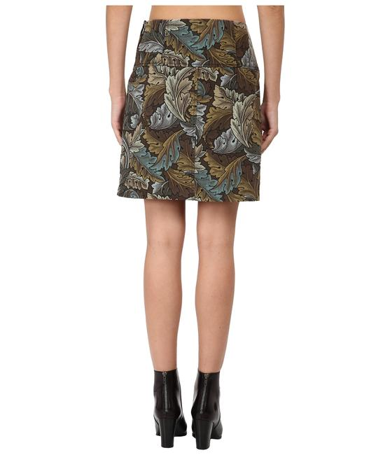 Marc Jacobs By Line Short Military Skirt green