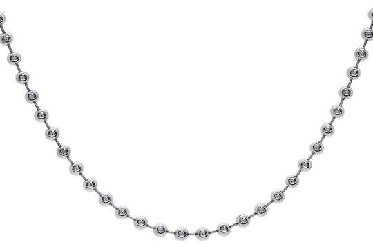 Preload https://img-static.tradesy.com/item/22994771/avital-and-co-jewelry-white-gold-bead-chain-14k-24-made-in-italy-necklace-0-1-540-540.jpg