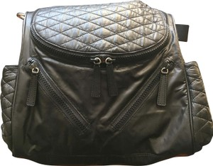 Rebecca Minkoff Quilted Nylon Lightweight black Diaper Bag