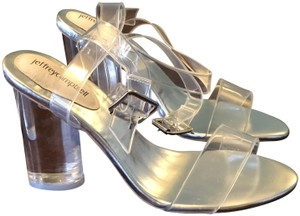 Jeffrey Campbell Transparent Sandals