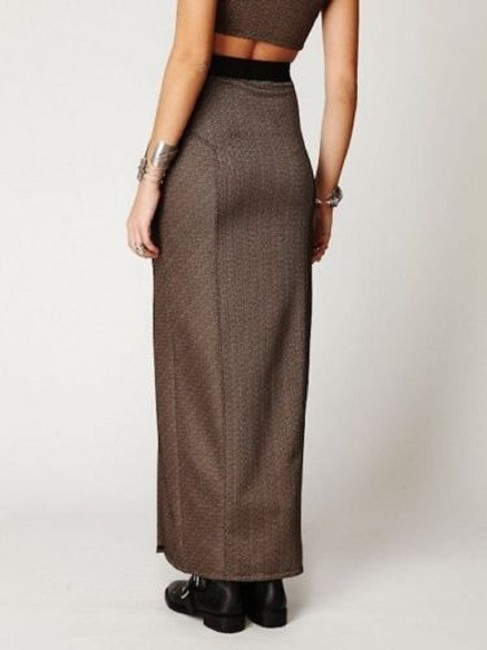 Free People Maxi Skirt Brown