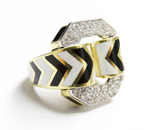 Preload https://img-static.tradesy.com/item/22994878/david-webb-f-vvs2-15-ct-diamonds-zebra-enamel-patterning-of-chevron-18k-ring-0-0-540-540.jpg