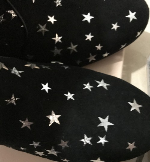 Laurence Dacade Stars Comfortable New Suede Black Boots