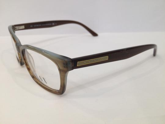 A|X Armani Exchange AX232 09DK Brown Azure Eyeglasses Frame 50-16-140 Armani Exchange RX