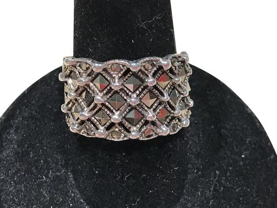 Preload https://img-static.tradesy.com/item/22994909/silver-sterling-marcasite-band-size-55-ring-0-3-540-540.jpg