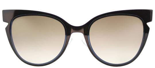 Fendi Fendi Women Sunglasses FF0133/S NPY DG Blue Frame Brown Gradient Lens