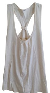 LA Made beige Halter Top