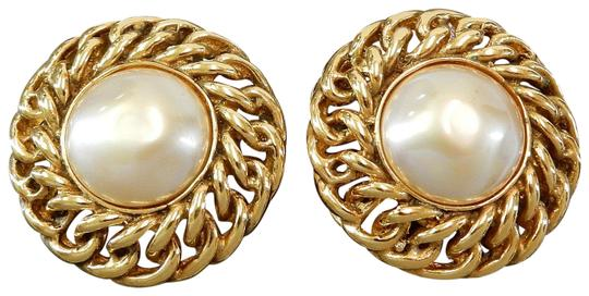 Preload https://img-static.tradesy.com/item/22995135/chanel-gold-plated-cc-imitation-pearl-vintage-earrings-0-1-540-540.jpg