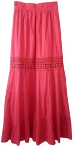 Romeo & Juliet Couture Maxi Skirt Coral