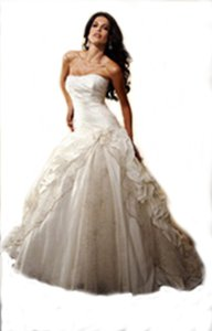 KittyChen Couture Scintillating Wedding Dress